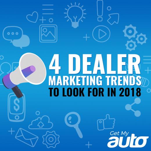 4 Dealer Marketing Trends to Look for in 2018 -GetMyAuto
