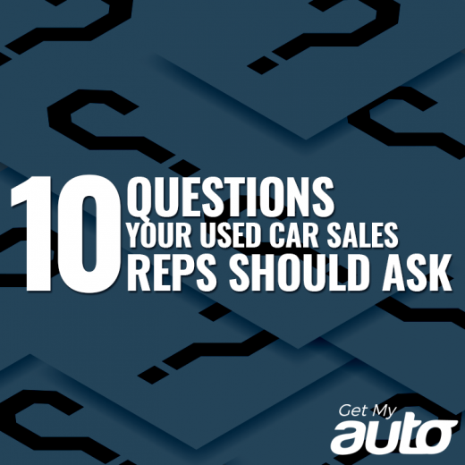 10 Questions Your Used Car Sales Reps Should Ask-GetMyAuto