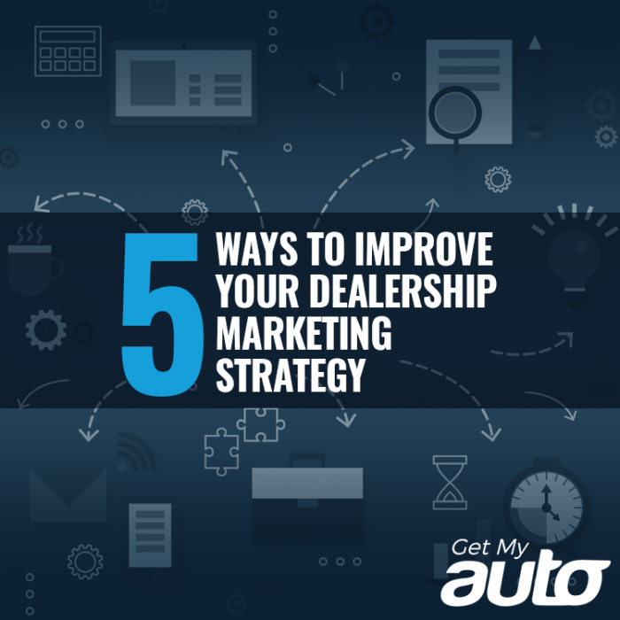 5 Ways to Improve Your Dealership Marketing Strategy GetMyAuto