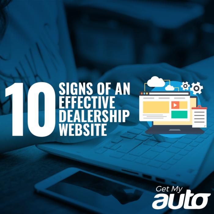 10 Signs of an Effective Dealership Website GetMyAuto