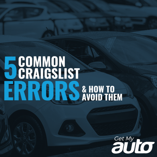 5 Common Craigslist Errors (And How to Avoid Them) GetMyAuto