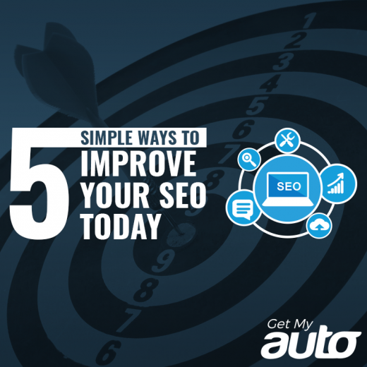 5 Simple Ways to Improve Your SEO Today GetMyAuto