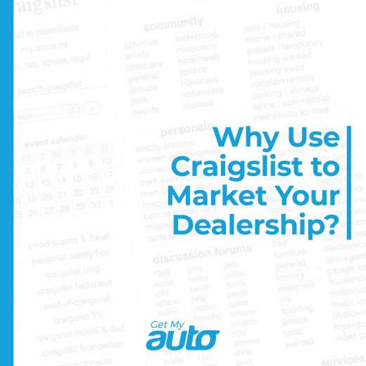 Why Use Craigslist to Market Your Dealership GetMyAuto