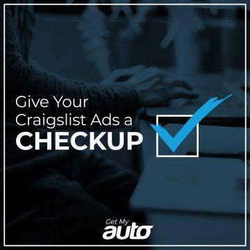 Give Your Craigslist Ads a Checkup GetMyAuto